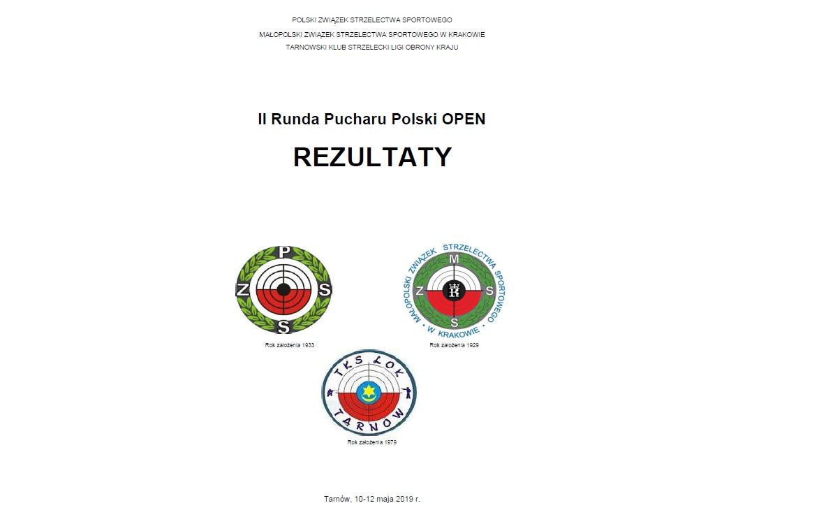 Rezultaty II runda Pucharu Polski