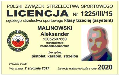 Zmiana godziny rozpoczęcia na 8.00 - Kurs sędziego klasy III - Pistolet, Karabin, Strzelba, Strzelectwo dynamiczne  ( 30 listopada – 1 grudnia )