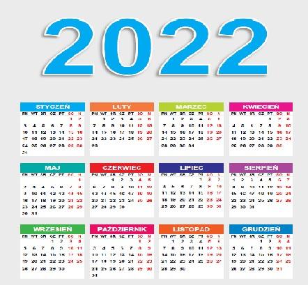 Zgłoszenia zawodów do kalendarza na rok 2022